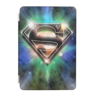 Superman Stylized | Shiny Burst Logo iPad Mini Cover