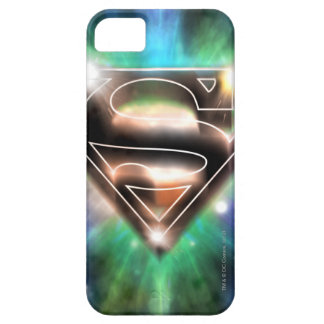 Superman Stylized   Shiny Burst Logo iPhone 5 Case
