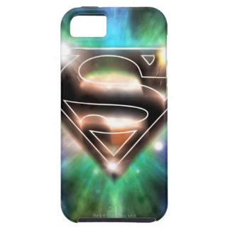 Superman Stylized   Shiny Burst Logo iPhone 5 Cases