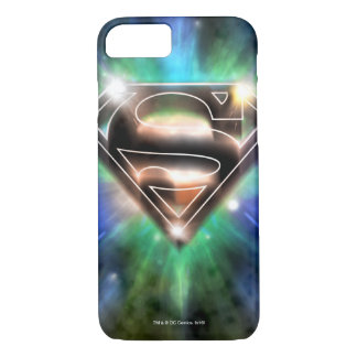 Superman Stylized | Shiny Burst Logo iPhone 8/7 Case