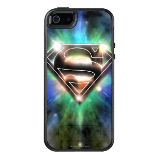 Superman Stylized | Shiny Burst Logo OtterBox iPhone 5/5s/SE Case