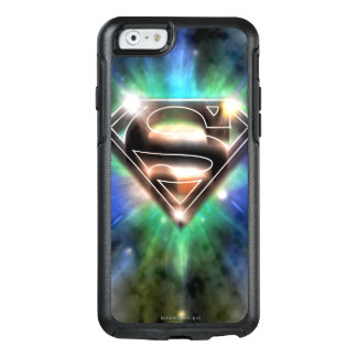 Superman Stylized | Shiny Burst Logo OtterBox iPhone 6/6s Case