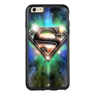 Superman Stylized | Shiny Burst Logo OtterBox iPhone 6/6s Plus Case