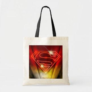 Superman Stylized | Shiny Red Outline Logo