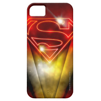 Superman Stylized | Shiny Red Outline Logo iPhone 5 Covers