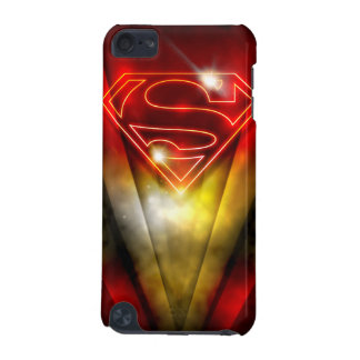 Superman Stylized | Shiny Red Outline Logo iPod Touch (5th Generation) Cases