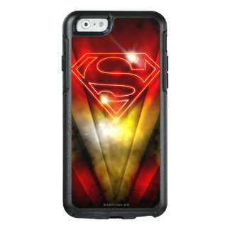 Superman Stylized | Shiny Red Outline Logo OtterBox iPhone 6/6s Case