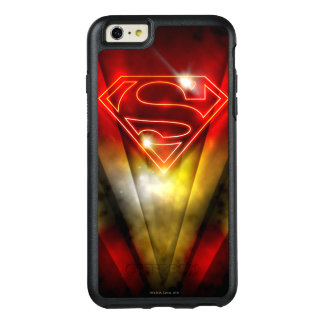 Superman Stylized | Shiny Red Outline Logo OtterBox iPhone 6/6s Plus Case