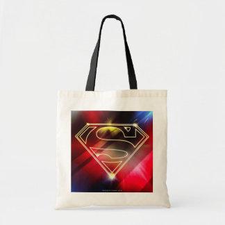 Superman Stylized | Shiny Yellow Outline Logo