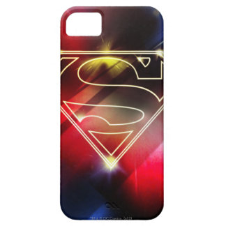 Superman Stylized | Shiny Yellow Outline Logo iPhone 5 Covers