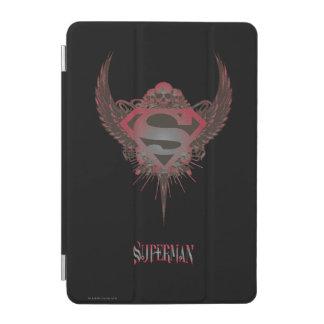 Superman Stylized | Skull and Wings Logo iPad Mini Cover