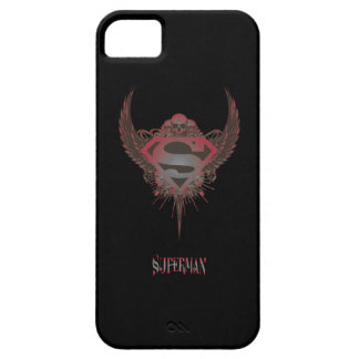 Superman Stylized | Skull and Wings Logo iPhone 5 Case