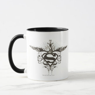 Superman Stylized | Skulls Logo Mug