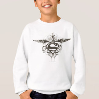 Superman Stylized | Skulls Logo Sweatshirt