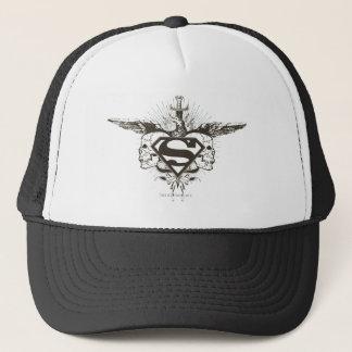 Superman Stylized | Skulls Logo Trucker Hat