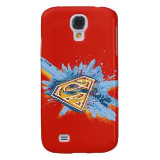 Superman Stylized | Splash Logo Galaxy S4 Case