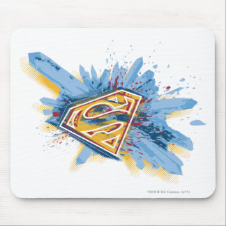 Superman Stylized | Splash Logo Mouse Mat