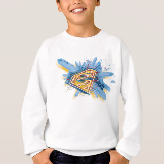Superman Stylized | Splash Logo Sweatshirt