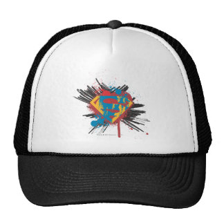 Superman Stylized | Splatter Logo Cap