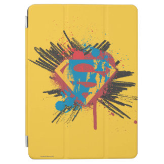Superman Stylized | Splatter Logo iPad Air Cover
