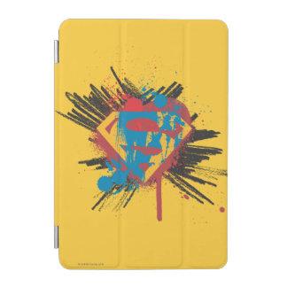 Superman Stylized | Splatter Logo iPad Mini Cover