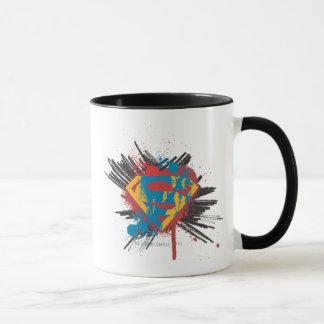 Superman Stylized | Splatter Logo Mug
