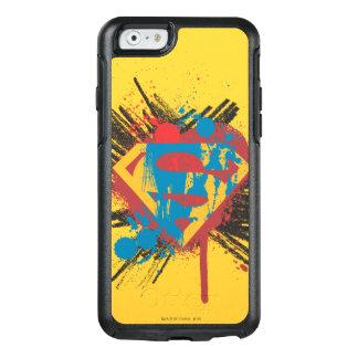 Superman Stylized | Splatter Logo OtterBox iPhone 6/6s Case
