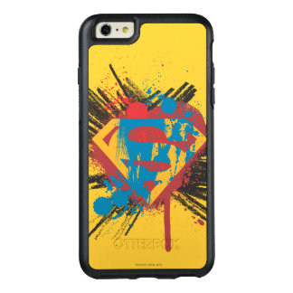 Superman Stylized | Splatter Logo OtterBox iPhone 6/6s Plus Case