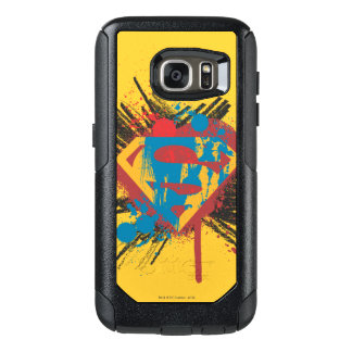Superman Stylized | Splatter Logo OtterBox Samsung Galaxy S7 Case