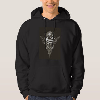 Superman Stylized | Star and Skull Logo Hoodie