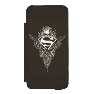 Superman Stylized | Star and Skull Logo Incipio Watson™ iPhone 5 Wallet Case