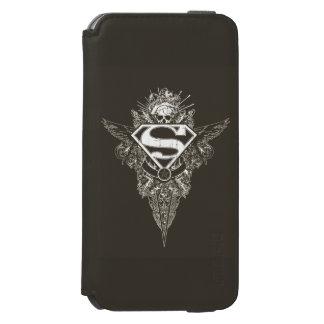 Superman Stylized | Star and Skull Logo Incipio Watson™ iPhone 6 Wallet Case