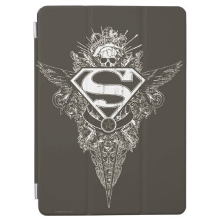 Superman Stylized | Star and Skull Logo iPad Air Cover