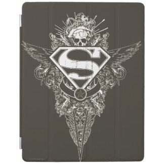 Superman Stylized | Star and Skull Logo iPad Cover