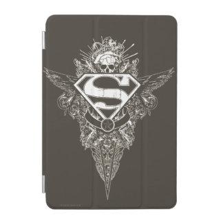 Superman Stylized | Star and Skull Logo iPad Mini Cover