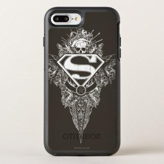 Superman Stylized | Star and Skull Logo OtterBox Symmetry iPhone 7 Plus Case