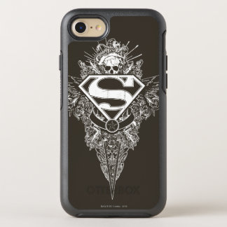 Superman Stylized | Star and Skull Logo OtterBox Symmetry iPhone 8/7 Case