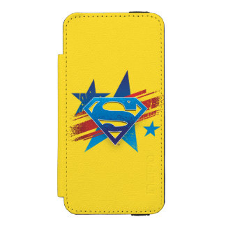 Superman Stylized | Stars and Stripes Logo Incipio Watson™ iPhone 5 Wallet Case