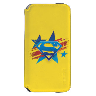 Superman Stylized | Stars and Stripes Logo Incipio Watson™ iPhone 6 Wallet Case