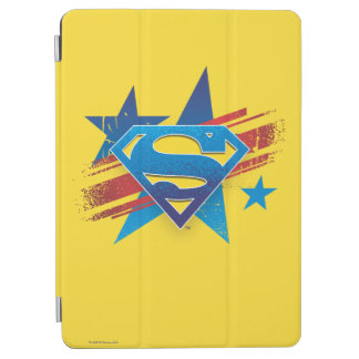 Superman Stylized | Stars and Stripes Logo iPad Air Cover