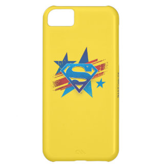 Superman Stylized | Stars and Stripes Logo iPhone 5C Case