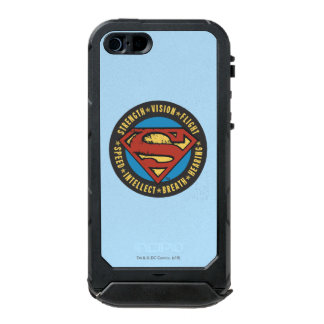 Superman Stylized | Strength Vision Flight Logo Incipio ATLAS ID™ iPhone 5 Case