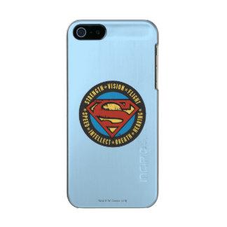 Superman Stylized | Strength Vision Flight Logo Incipio Feather® Shine iPhone 5 Case