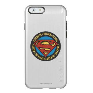 Superman Stylized | Strength Vision Flight Logo Incipio Feather® Shine iPhone 6 Case