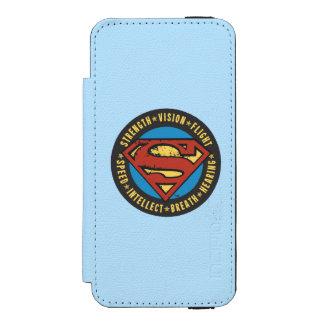 Superman Stylized | Strength Vision Flight Logo Incipio Watson™ iPhone 5 Wallet Case