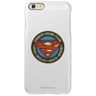 Superman Stylized | Strength Vision Flight Logo iPhone 6 Plus Case