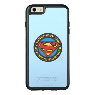 Superman Stylized | Strength Vision Flight Logo OtterBox iPhone 6/6s Plus Case