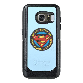Superman Stylized | Strength Vision Flight Logo OtterBox Samsung Galaxy S7 Case