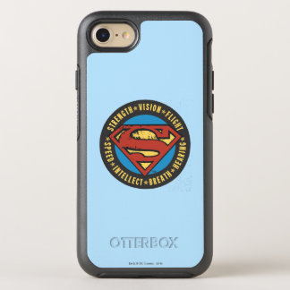 Superman Stylized | Strength Vision Flight Logo OtterBox Symmetry iPhone 8/7 Case