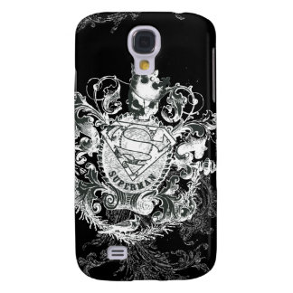 Superman Stylized | Tan Heart Logo Galaxy S4 Case